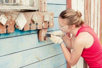 Как удалить старую краску с различных поверхностей