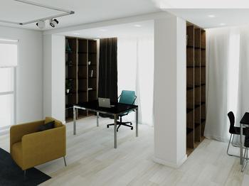Квартира-студия, которую не отличишь от 3D-визуализации