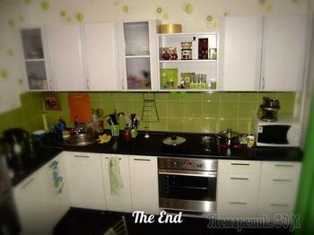 История ремонта квартиры своими руками: часть 1 — Кухня