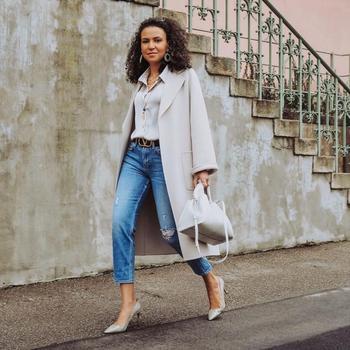 Модные укороченные джинсы для женщин 40 лет