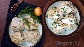 Хинкали по мотивам грузинской кухни. Подробный рецепт