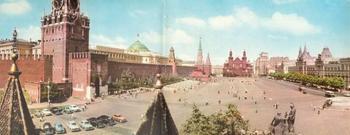 Москва 1960-х в цветных панорамных снимках