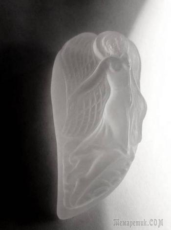 """""""Ангел"""", кварц, 41*21."""