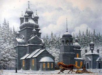 Пасторальное сказочное творчество современного художника В.Н. Маркова