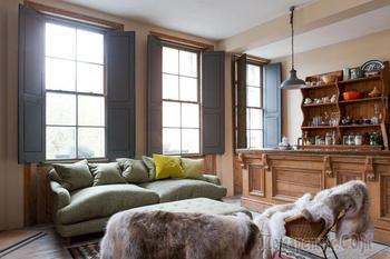 Уютные апартаменты в бывшем пабе в Лондоне
