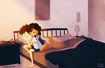 Любовь скрывается в мелочах, главное ее рассмотреть, и прожить этот момент