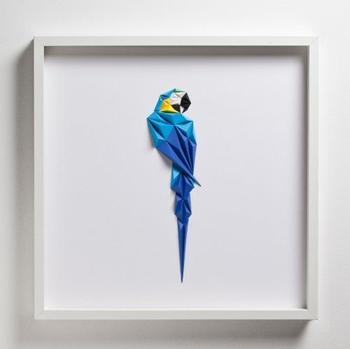 Скульптуры птиц из бумаги от художника Тайфуна Тинмаза