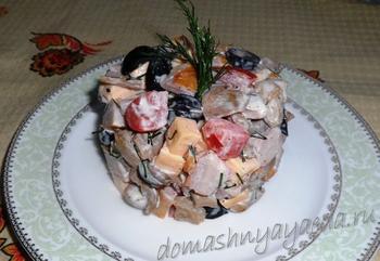 Салат для праздника