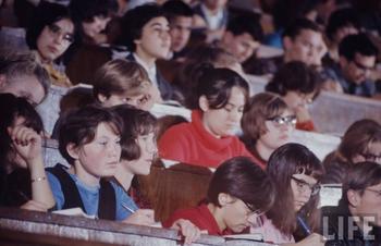 Послание студентов 1967 года...