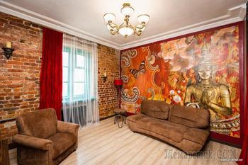 Совместили несовместимое. Изучаем одну из самых ярких квартир в Минске