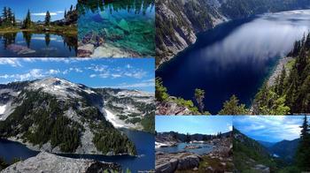 США: Озера и водопады долины реки Фосс