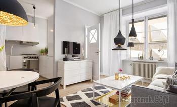 Как красиво объединить кухню с гостиной: 24 примера