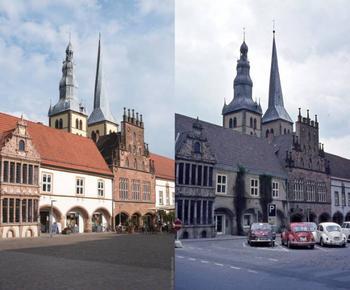 Впечатляющие сравнения мест тогда и сейчас