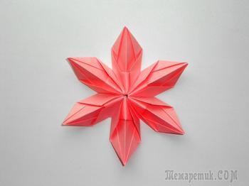 Цветы из бумаги Поделки оригами на 8 марта