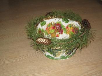 Подарочная упаковка для новогоднего подарка. МК