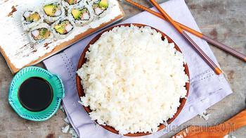 Как варить рис для суши в кастрюле + заправка для риса суши