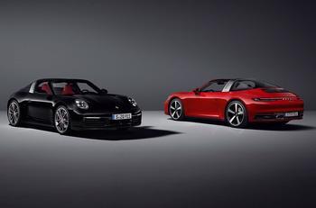 Новый Porsche 911 Targa: Редчайший и красивейший 911-й с новым лицом