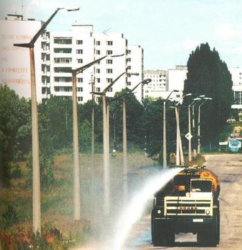 Автотехника, которая на самом деле ездила в Чернобыле