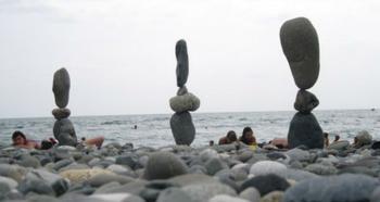 Ростовчанин открыл в себе редкий талант балансировать камни