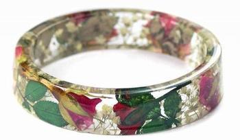 Цветочные браслеты от художницы Modern Flower Child