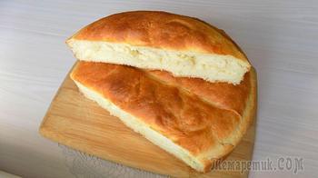 Рецепт приготовления домашнего хлеба на молоке