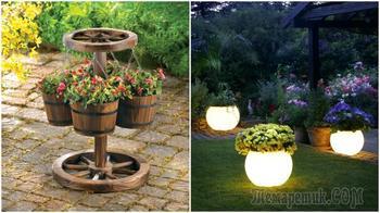 Вдохновляющие идеи оригинального декора на садовом участке