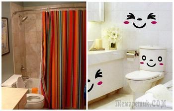 9 способов, как обновить интерьер ванной комнаты без ремонта