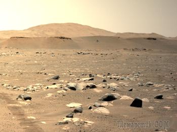 Третий по счету полет вертолета на Марсе - быстрее и дальше, чем прежде!