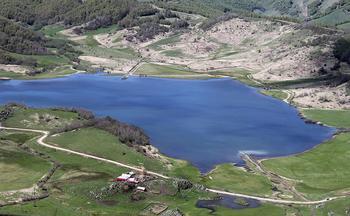 Озеро-призрак в Южной Осетии