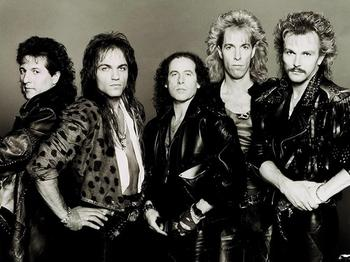 Scorpions. Восемь романтических баллад