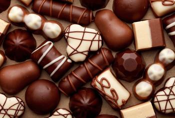 Шоколадные конфеты к 8 марта