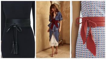 Стильный аксессуар: что такое пояс оби и с чем его носить