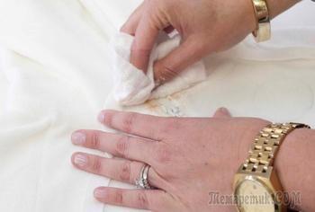 Как отстирать одежду из разных материалов от тонального крема