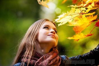 Об осени мне хочется опять... (Стих)