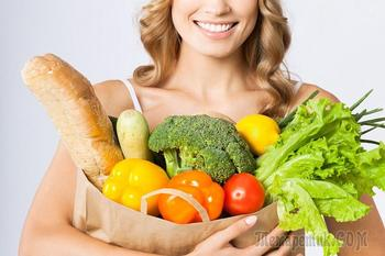 Продукты питания: связь со здоровьем и долголетием