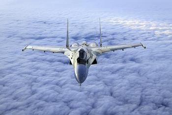 Истребитель СУ-35 (СУ-27М) на вооружении ВВС России