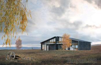 Белоруский дом от дизайн бюро «LOGOVO» (Минск)