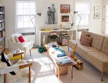 Жизнерадостный скандинавский дом для большой семьи