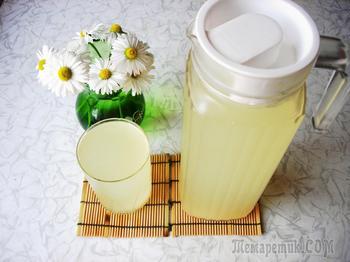 Квас (имбирно - лимонный)