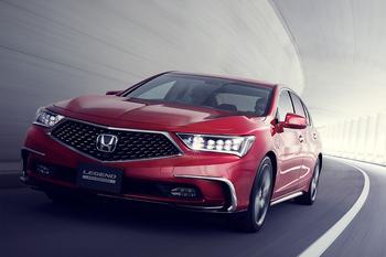 Honda Legend 2018 – обновление брата-двойника Acura RLX