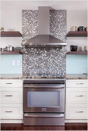 Идеи оформления кухонного фартука