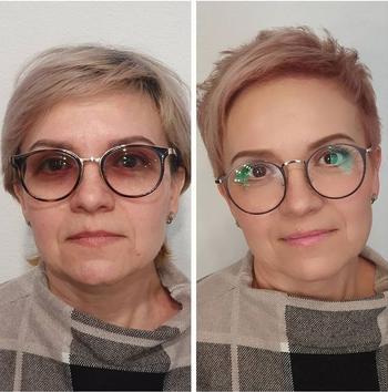 Визажист и парикмахер круто преображают женщин