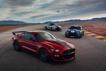 Ford Mustang Shelby GT500 2020 – самый мощный Форд