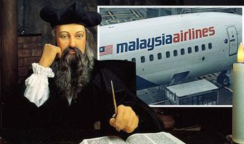 В катренах Нострадамуса найдены намеки на пропавший малазийский Боинг MH370