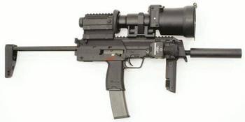 Пистолет-пулемет Heckler - Koch HK MP7A1 PDW (Германия)
