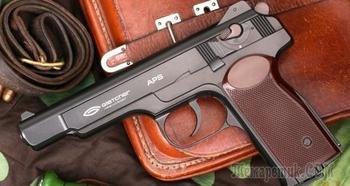Обзор пневматического пистолета Стечкина от Umarex и Gletcher