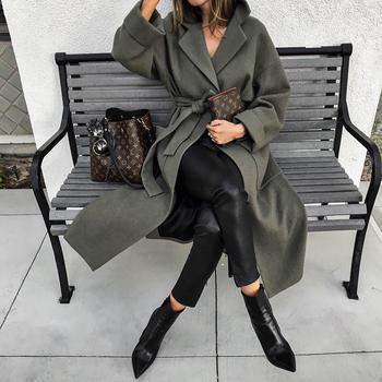 С чем носить длинное зимнее пальто 2019: 22 идеи, которые помогут вам утеплиться красиво