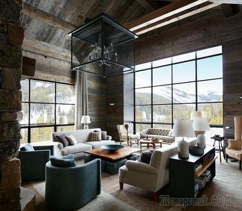 Великолепный дизайн в горах штата Монтана