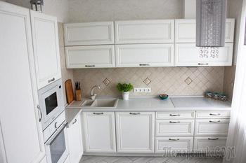 Кухня: компактная белизна