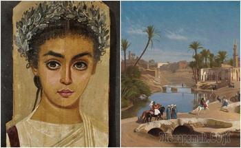 Какие тайны хранит Файюмский оазис: лабиринт для крокодилов, портреты на саркофагах мумий и др